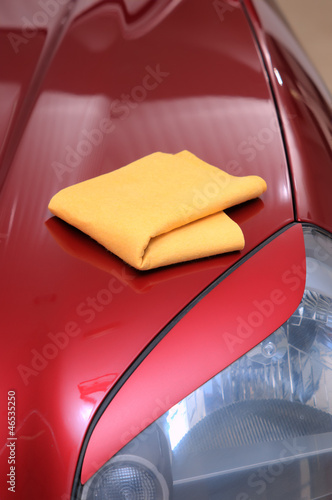 Drying car