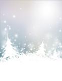 Fototapete Winter - Landschaft - Hintergrund