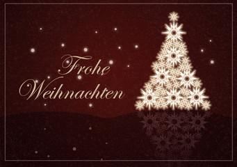 Weihnachten, Hintergrund, Karte mit Text