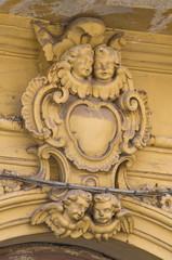 Santorenzo-Bardoscia palace. Galatina. Puglia. Italy.