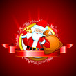 Santa with Jingle Bell
