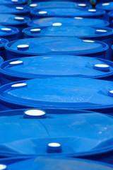 Blue Barrels