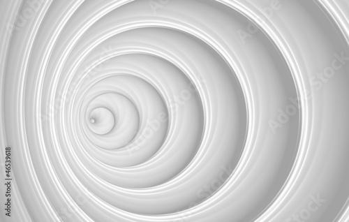Plakat białe abstrakcyjne
