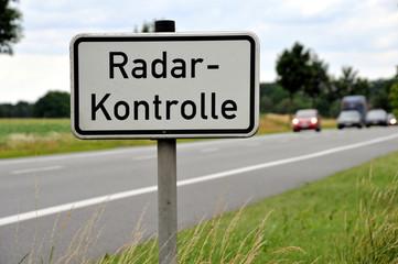 Radarkontrolle, Geschwindigkeit, Radarfalle, Tempo, Polizei