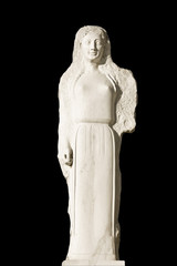 Replica of an ancient Greek statue