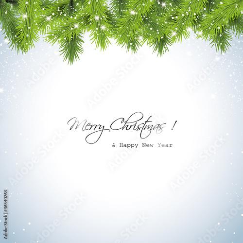 Boże Narodzenie śnieżny tle