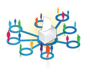 vote, élections et réseaux sociaux