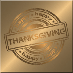 Thanksgiving Gold Background