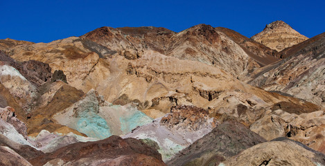 Artists Palette in Death Valley, California.