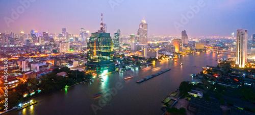 Bangkok Skyline, Thailand.. - 46543248