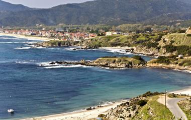 Sarti resort village at Chalkidiki in Greece
