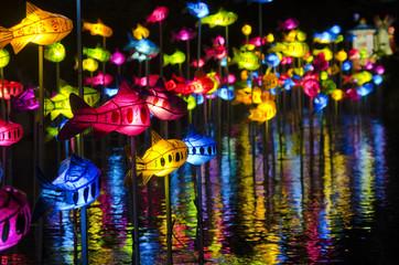 등불 축제 야경