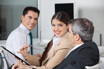 Business-Besprechung im Büro