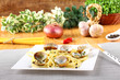 Spaghetti with fresh clams and parsley