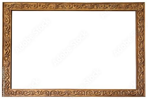 cadre bois ancien photo libre de droits sur la banque dimages  ~ Cadre Ancien En Bois
