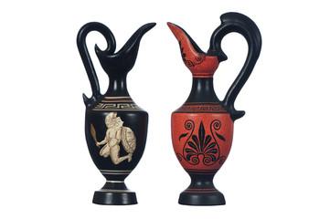 Zwei Griechische Keramikvasen