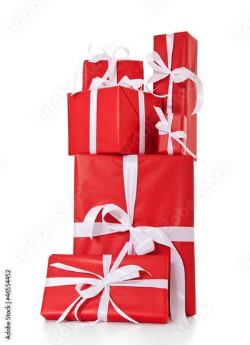 Viele fein verpackte Geschenke