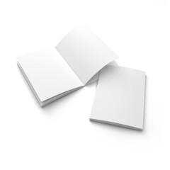 blank A4 catalog mock up