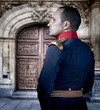 Spanish old soldier, elegant historical costume