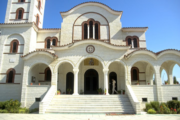 Orthodox church, Durresi, Albania