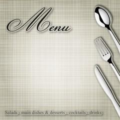 Menu Restaurant_Silver IV