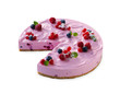Cheese cake with berries