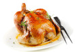 canvas print picture - Roasted chicken