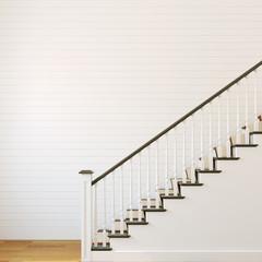 White stairway.