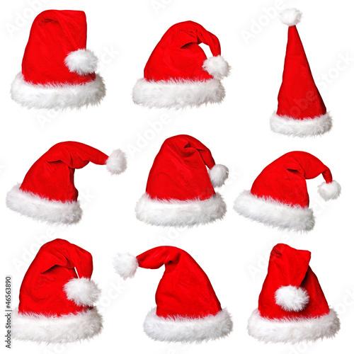 santa claus hat collection