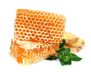 Honeycomb  with mint and ginger