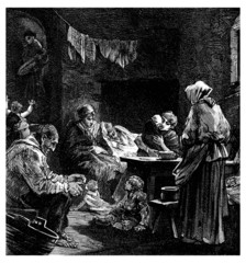 Poor People - 19th century