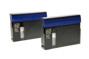 Two mini dv video tapes