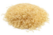 Pile of long grain parboiled rice