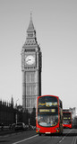 Double Decker Bus, Big Ben in far behind - 46565063