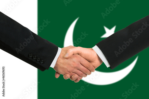 The Pakistani flag