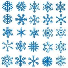 Snowflakes Set - 25 Illustrations