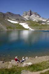 lac sainte marguerite et mont thabor en maurienne