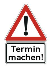 Termin  Schild  #121107-003