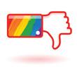 je n'aime pas le mouvement gay