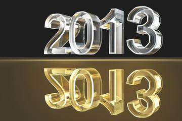 Das Jahr 2013 - Glas