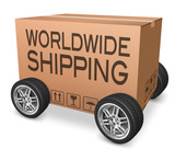 worldwide shipping package delivery