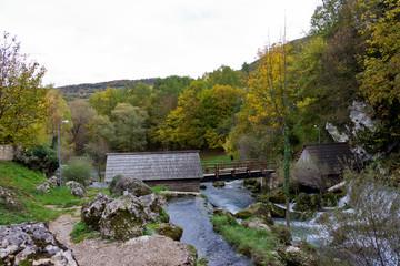 Vrbas river in Banja Luka