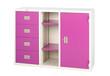 Closet in violet cute useful and hard to find a colorful furnitu