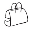 a purse sketch