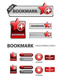 add to bookmark button, favorite icons and buttons