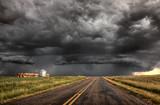 Fototapety Storm Clouds Saskatchewan