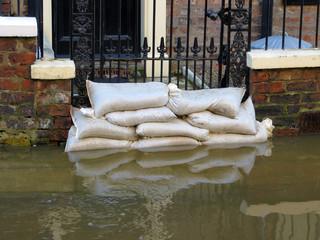 York flooded street