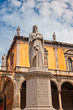 Monument of Dante, Verona, Italy