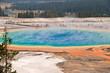 Grand Prismatic spring - Parc de Yellowstone, USA