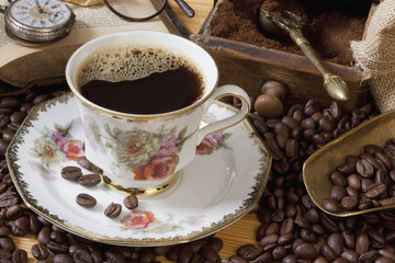 Kaffe Schwarz